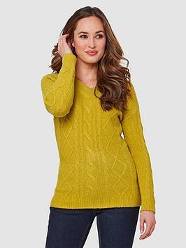 Joe Browns Joe Browns Winter Yellow Jumper - Yellow Picture