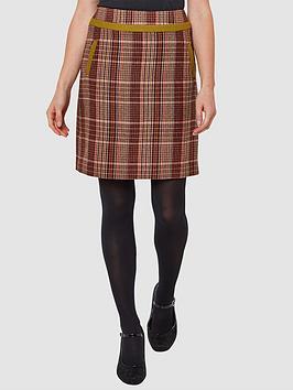 Joe Browns Joe Browns Country Check Skirt - Print Picture
