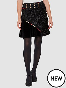 joe-browns-button-jacquard-skirt-print