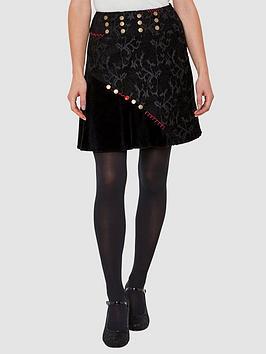 Joe Browns Joe Browns Button Jacquard Skirt - Print Picture