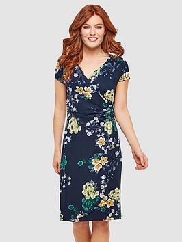 Joe Browns Joe Browns Evening Florals Dress - Navy Multi Picture
