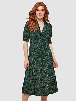 Joe Browns Joe Browns Charming Vintage Dress - Green Picture