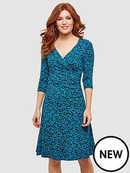 joe-browns-moonlit-petal-wrap-dress-print