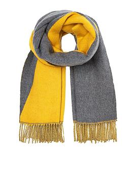 Joules Joules Langford Reversible Scarf - Gold Picture