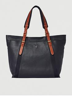 joules-moreton-carriage-leather-grab-bag-navy