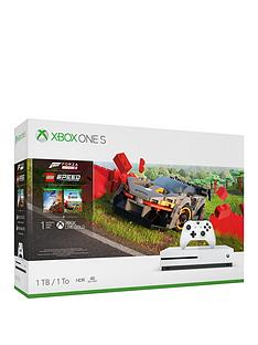 xbox-one-s-with-forza-horizons-4-amp-forza-horizons-4nbsplegoregnbspspeed-champions-andnbspoptional-extras-1tb-console-white