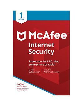 Mcafee    Internet Security 01-Device Edu - 24 Months