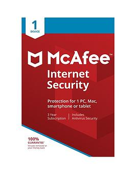 Mcafee    Internet Security 01-Device Edu - 36 Months