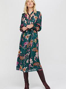 monsoon-rosie-print-pussybow-midi-dress