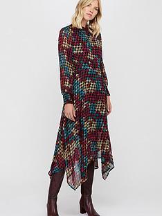 monsoon-monsoon-hazel-houndstooth-print-midi-dress