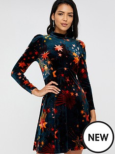 monsoon-monsoon-starlet-print-velvet-dress