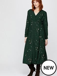 monsoon-ellie-star-embellished-midi-dress-green