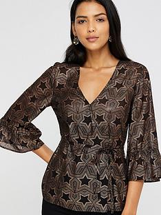 monsoon-antares-star-foil-print-top