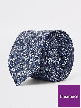 river-island-navy-floral-ditsy-print-tie