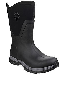 Muck Boots Muck Boots Arctic Sport Mid Height Wellington Boots - Black Picture