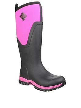 Muck Boots Muck Boots Arctic Sport Ii Tall Wellington Boots - Black/Pink Picture
