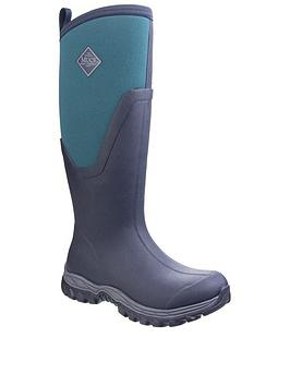 Muck Boots Muck Boots Arctic Sport Ii Tall Wellington Boots - Navy/Multi Picture