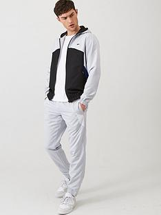 lacoste-sport-hooded-tracksuit-grey