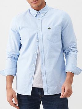 Lacoste Sportswear Lacoste Sportswear Oxford Shirt - Light Blue Picture