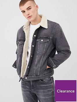 calvin-klein-jeans-sherpa-foundation-denim-jacket-grey