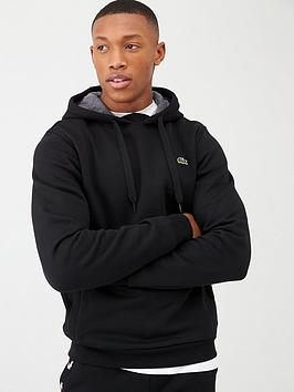 Lacoste Lacoste Classic Overhead Hoodie - Black Picture