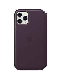 apple-iphone-11-pro-leather-folio-aubergine