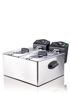 Swan   Sd6041 Deep Fryer - Double