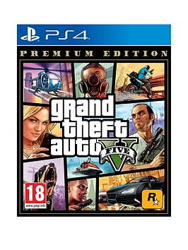 Playstation 4 Playstation 4 Grand Theft Auto V: Premium Edition Picture