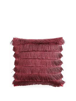 Michelle Keegan Home Michelle Keegan Home Flapper Cushion - Burgundy Picture