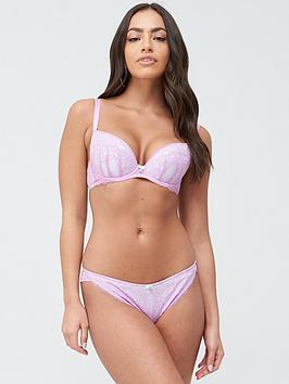 Ann Summers   Sexy Lace 3 Plunge Bra - Lilac