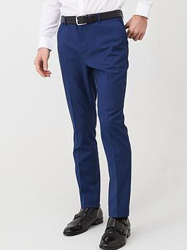 V by Very V By Very Slim Suit Trousers - Blue Picture