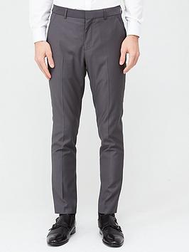 very-man-stretchnbspslim-suit-trousers-grey