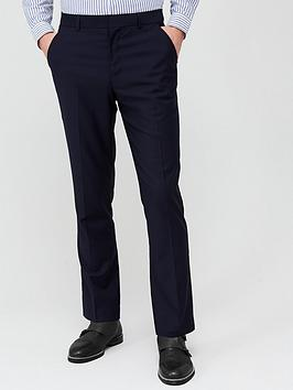 V by Very V By Very Regular Suit Trousers - Navy Picture