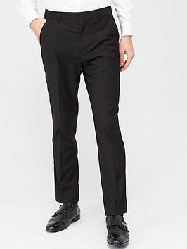 V by Very V By Very Stretch Regular Suit Trousers - Black Picture