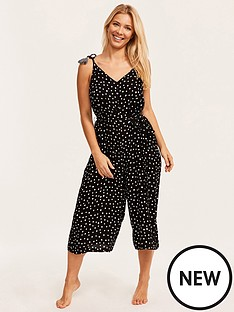 figleaves-sorrento-spot-strappy-culotte-jumpsuit-black