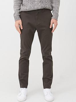 V by Very V By Very Chino Trousers - Dark Grey Picture