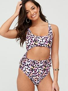 south-beach-leopard-tie-side-swimsuit-multinbsp