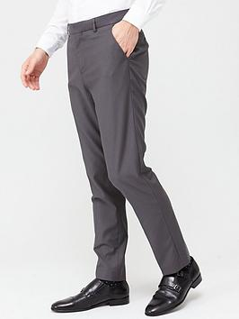 V by Very V By Very Stretch Regular Suit Trousers - Grey Picture