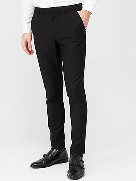 V by Very V By Very Stretch Skinny Suit Trousers - Black Picture