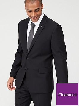 very-man-stretch-slimnbspsuit-jacket-black