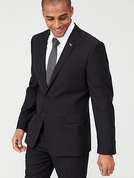 V by Very V By Very Stretch Slim Suit Jacket - Black Picture