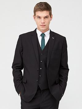 V by Very V By Very Stretch Regular Suit Jacket - Black Picture