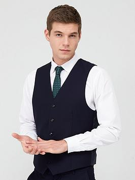 V by Very V By Very Suit Waistcoat - Navy Picture