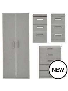 sanford-high-gloss-ready-assembled-4-piece-package-2-door-wardrobe-chest-of-5-drawers-and-2-bedside-chests