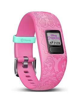 Garmin    Vivofit Jr. 2 Disney Princess Activity Tracker For Kids - Adjustable Band - Pink