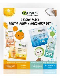 garnier-garnier-tissue-mask-party-prep-recovery-set