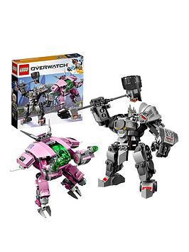 LEGO Overwatch Lego Overwatch 75973 D.Va &Amp; Reinhardt With Minifigures Picture