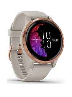garmin-venu-gps-smartwatch-light-sand-with-rose-gold-hardware