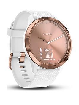 Garmin Garmin Vivomove Hr Hybrid Smartwatch - Small/Medium - Rose  ... Picture