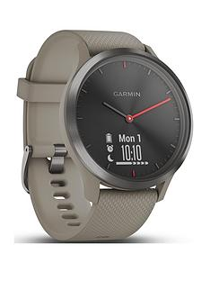 garmin-vivomove-hr-hybrid-smart-watch-ndash-black-with-sandstone-band